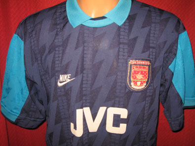 Arsenal away 1994-1995 XL #1102