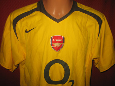 Arsenal away 2005-2006 L #1167