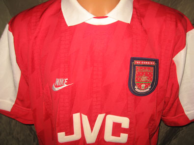 Arsenal home shirt 1994-1996 size L