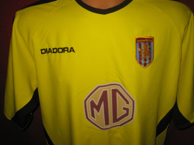 Aston Villa away 2003-2004 L