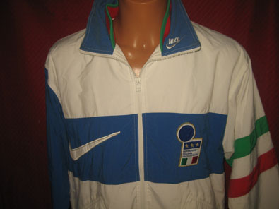 Italy 90's tracksuit top S #1243