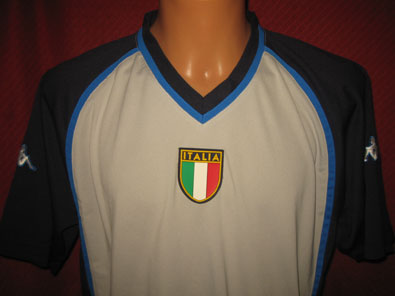Italy training shirt years 2000-2001 size XXL