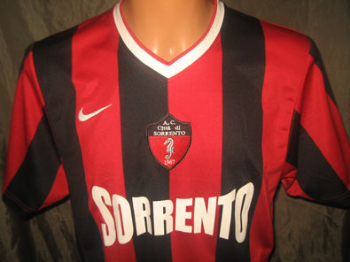 Sorrento home shirt CREED 22 size M #fv234