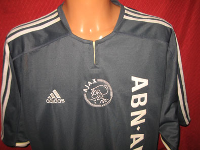 Ajax away shirt 2003-2004 size XXL #fv201