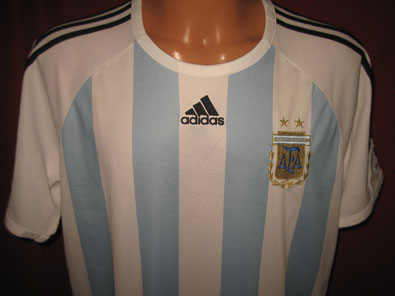Argentina home shirt years 2006-2007 size XLB