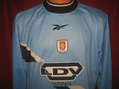 Aston Villa goalkeeper 1999-2000 XL #FV174