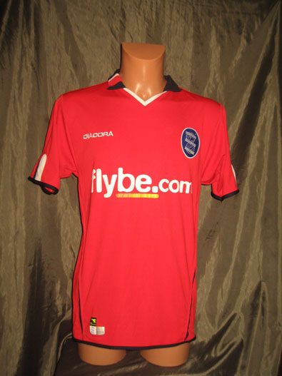 Birmingham City FC away 2004-2005 S