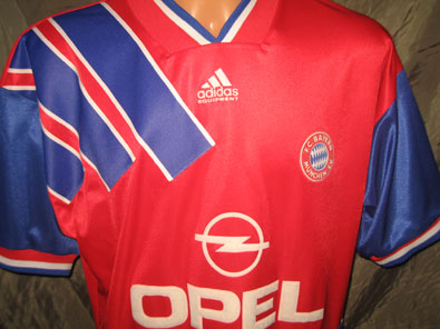 Bayern Munich Home 1993-1995 L #624
