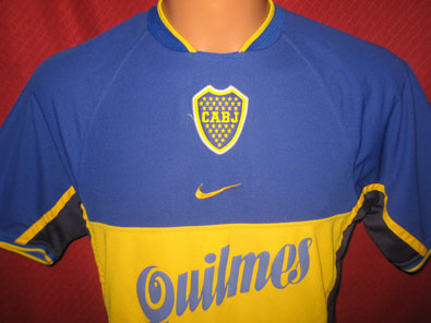 Boca Juniors home shirt 2001 size S