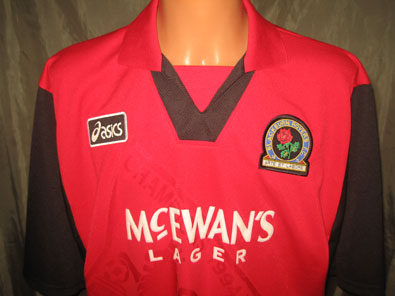 Blackburn Rovers FC away 1995-1996 XXL #1081