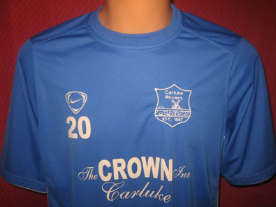 Carluke Rovers training shirt size L #fv223