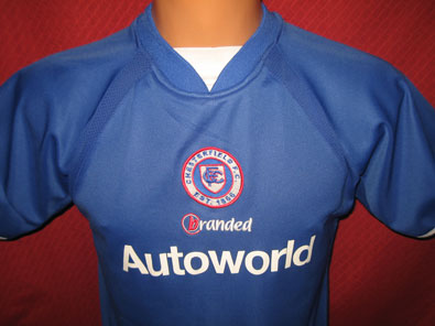 Chesterfield FC home 2004-2005 LB #608