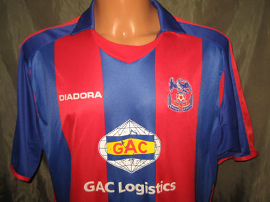 Crystal Palace FC home 2006-2007 size XL