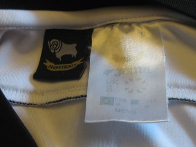 Derby County FC home 2006-2007 size S