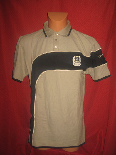 Everton FC short sleeved polo shirt official merchandise size L