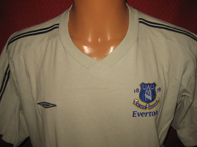Everton FC training T-shirt size XL
