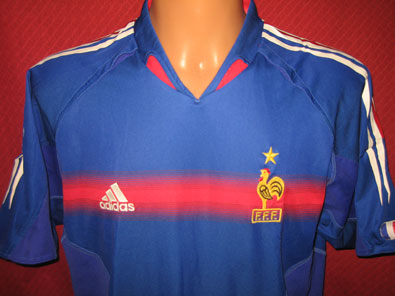France home shirt years 2004-2006 size L