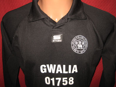 Henllan Football Club goalkeeper shirt size S #fv103