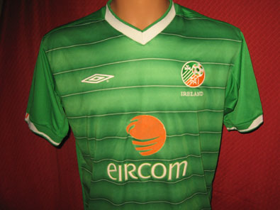 Ireland home shirt years 2003-2004 size M