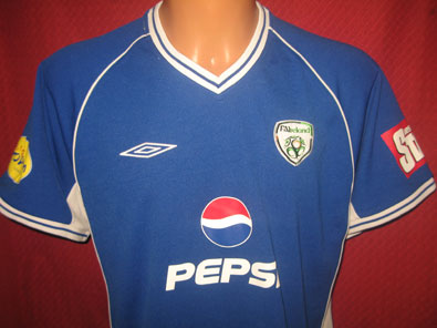 Ireland 90's away shirt M #1235