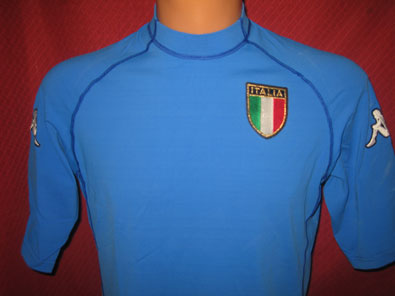 Italy home shirt years 2000-2001 size M