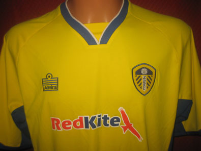 Leeds United FC away 3rd shirt 2007-2008 size L