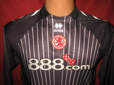 Middlesbrough goalkeeper 2006 20th foundation size M #fv207