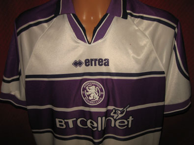Middlesbrough FC away shirt season 1999-2000 size XL #fv101