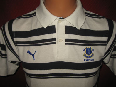 Everton FC training polo shirt 2000-2001 XS