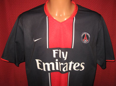 Paris Saint Germain home shirt 2007-2008 size XL