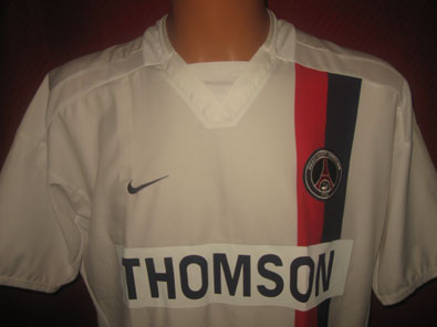 Paris Saint Germain away shirt 2004-2005 size L #fv151