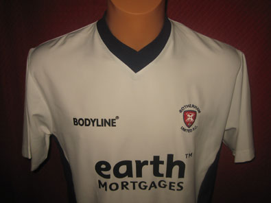 Rotherham United FC away shirt 2004-2005 size S #fv123