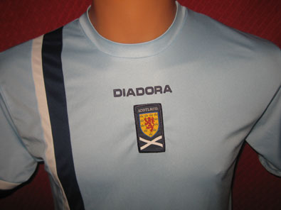 Scotland away shirt years 2005-2007 size JXL