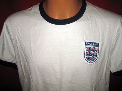England 2006 official merchandise Marks & Spencer t-shirt M #606
