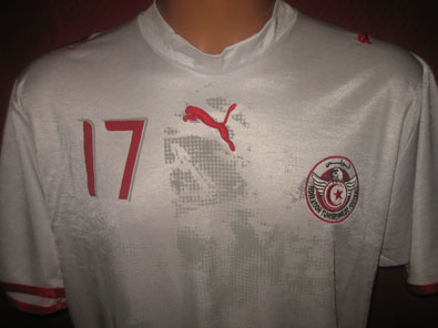 Tunisia home 2006-2007 Jomaa XL #1159