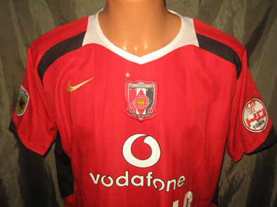 Urawa Red Diamonds home shirt 2006 Ponte #10 size XL