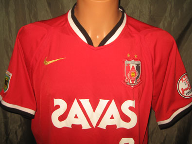 Urawa Red Diamonds home shirt 2007 Tsuboi #2 size XXL