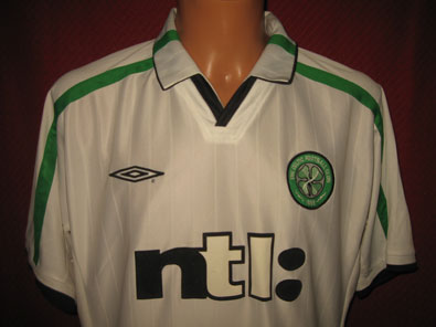 Celtic Glasgow away shirt seasons 2001-2002 size L