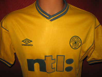 Celtic Glasgow away shirt seasons 2000-2002 size XS