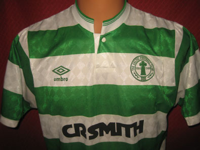 Celtic Glasgow home shirt 100 years season 1987-1988 size M