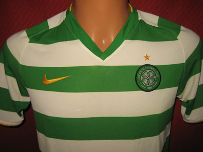 Celtic Glasgow home shirt seasons 2008-2010 size XLB #fv107