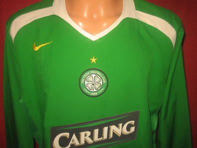 Celtic Glasgow away shirt seasons 2005-2006 size XL #fv200