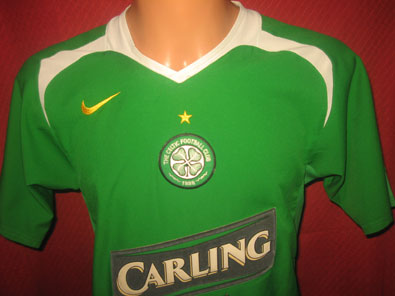 Celtic Glasgow away shirt season 2005-2006 size S