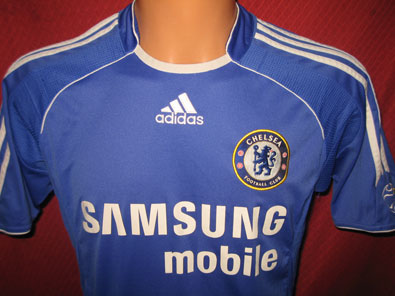 Chelsea football shirt home 2006-2008 size S #