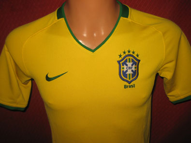Brasil home shirt years 2008-2010 size XS