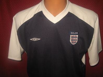 England training shirt year 2000 size L
