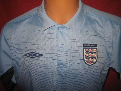England training polo shirt M / L #539