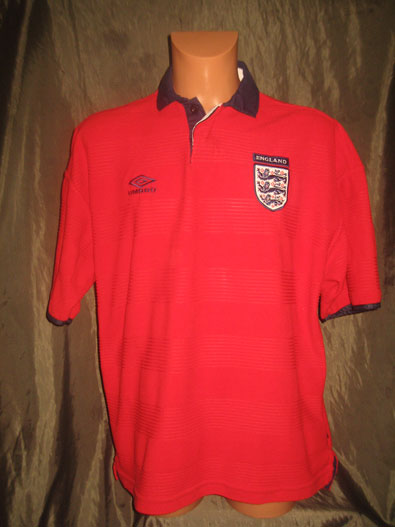 England away shirt 1999-2001 size XL