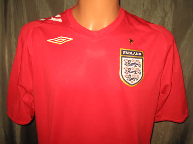 England away woman shirt 2006-2008 size 12