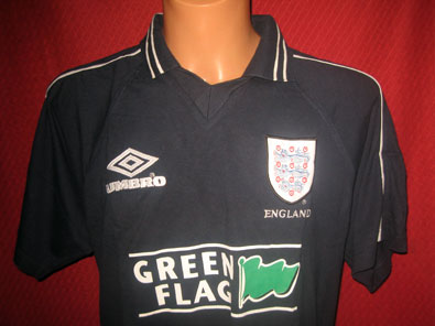 England training polo shirt 1995-1996 L #1278